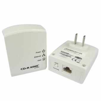 CD-R King Internet Through Power Outlet (Powerline Ethernet200Mbps) COM-NET015-CC