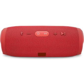 Charge3 Splashproof Portable Wireless Bluetooth Speaker (Red) - 3