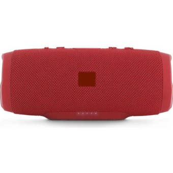 Charge3 Splashproof Portable Wireless Bluetooth Speaker (Red) - 2