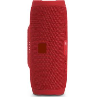 Charge3 Splashproof Portable Wireless Bluetooth Speaker (Red) - 4