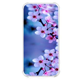 Cherry Blossom Design TPU Back Case/Jelly Case/Shock Proof for Samsung Galaxy J7 Core