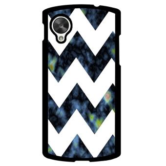 Chevron Pattern Phone Case for LG Nexus 5 (Multicolor)