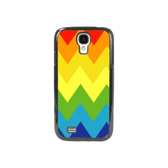 Chevron Pattern Phone Case for Samsung Galaxy S4 (Multicolor)