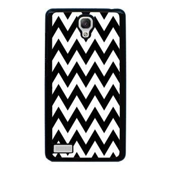 Chevron Pattern Phone Case for Xiaomi Redmi Note (Black)