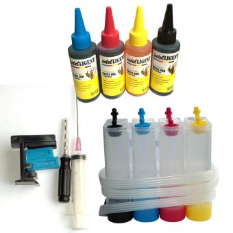CISS Kits COMBO 3 and 1 4 color Ink Tank, Suction Tools, set of 4100ml dye Ink CMYK