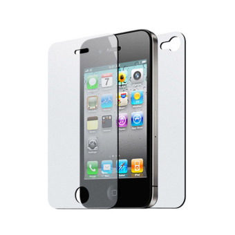 Clarity Front Back Screen Protector F for iPhone 4G