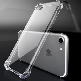 Clear Drop-proof TPU Back Case Cover for iPhone 7 4.7 Inch -Transparent - intl