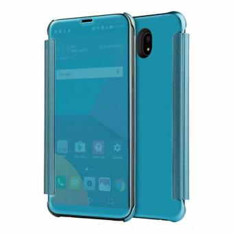Clear Flip View Cover for Samsung Galaxy J7 Pro (Aqua Blue) Price in Philippines