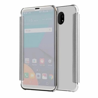 Clear Flip View Cover for Samsung Galaxy J7 Pro (Silver) Price in Philippines