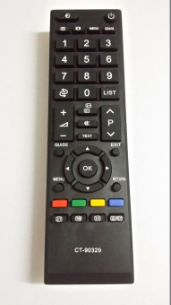 Click to open expanded view Brand New Generic Replacement RemoteControl Fit for CT-90329 for TOSHIBA LCD RV700A RV600A RV550A TV -intl