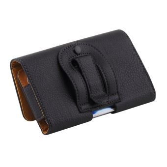 Clip Belt Holster Leather Protective Case Cover For Samsung GalaxyS4 S3