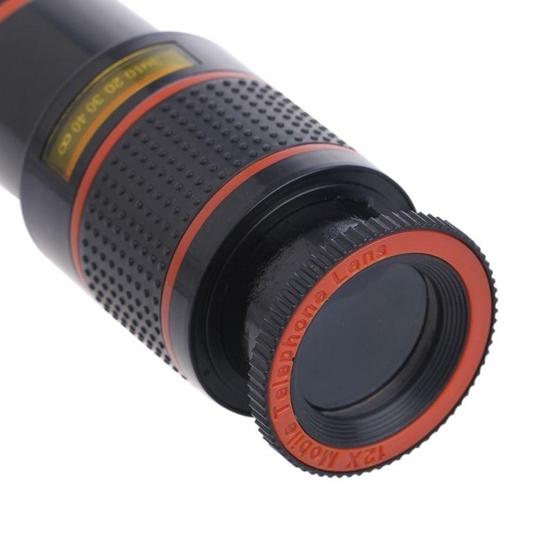 Clip-on 12x Optical Zoom HD Telescope Camera Lens For UniversalMobile Phone - intl - 3
