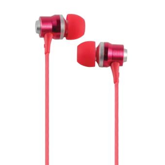 Cliptec BME-878-03 Rhythm In-Ear Earphones (Red)