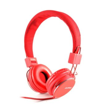 Cliptec BMH-835-03 Urban Reaction Multimedia Headset (Red)