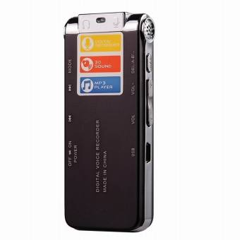 CM112 Rechargeable Digital Voice Recorder MP3 Player - Wine Red(8GB) - intl - 5