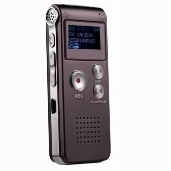 CM112 Rechargeable Digital Voice Recorder MP3 Player - Wine Red(8GB) - intl - 4