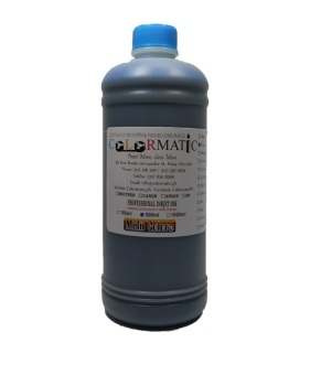 Colormatic Professional Ink Bottle for Epson 500ml (Cyan)