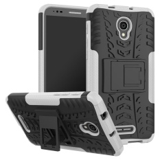 Compatible for Alcatel One Touch Pop 4 Plus Dual Layer 2 in 1Rugged Rubber Hybrid Protective