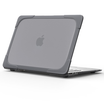 Compatible for Macbook Air 13 inch Shockproof Protective Built in Stand Hard Tablet Cover Case - intl