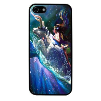 Constellation Sytle Pattern Phone Case for iPhone 4/4S (Black)