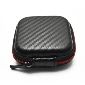 Cool Purse Carry Hard Coin Case Bag Storage Box For Headphone Earphone Headset Protection - intl