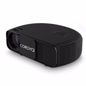 Cordya CL760 3200 Lumens HD LED Projector (Black) - 2