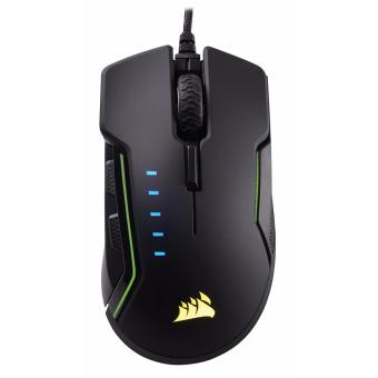 Corsair GLAIVE RGB Gaming Mouse, Backlit LED, 16000 DPI, Optical, Aluminum (CS-CH-9302111-AP)