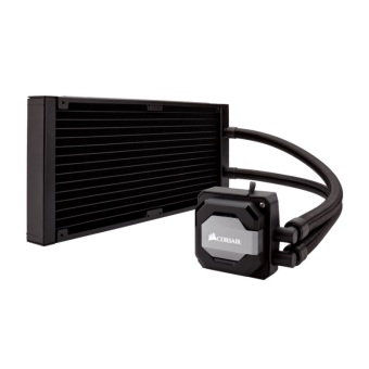 Corsair Hydro Series H110i 280mm Extreme Performance Liquid CPU Cooler - 2