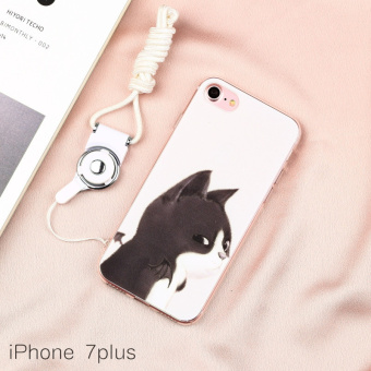 Best Buy Couple s iphone7 cool for Men and Women CAT soft case phone case  in Philippines 4ef0e100d3