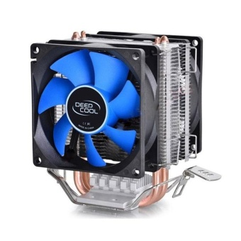 CPU Cooler Fan Double Heatpipe Radiator For Intel AMD 754/940/AM2+/AM3/FM1/FM2 - intl Price Philippines