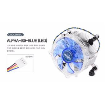 CPU Processor Fan with Blue Led (1156/1155/1151/1150)