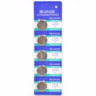 CR2032 Lithium Cell 3V Button Battery 5 Pieces
