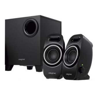 Creative SBS A350 2.1 Multimedia Speakers (Black)