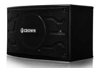 Crown BF-108 Karaoke Speaker System (Black) - 2
