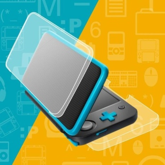 Crystal Case Protector Cover for New Nintendo 2DS XL - intl - 2