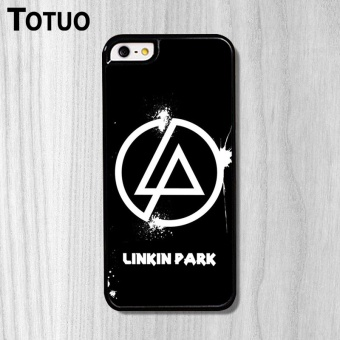 Custom Fashion For Apple iPhone 5S/SE Case 4.0 Inch Design LinkinPark Background Pattern Case - intl Price Philippines