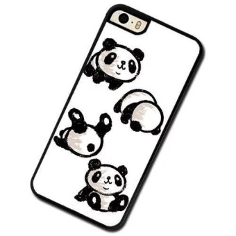 Custom Panda Rolling Phone Case For Apple iPhone 5 5s SE - intl