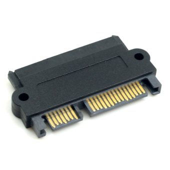 CY SFF-8482 SAS 22 Pin to 7 Pin 15 Pin SATA Hard Disk Drive Raid Adapter with 15 Pin Power Port