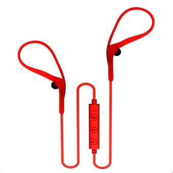 D900 Wireless Sports Bluetooth Headset (Red)