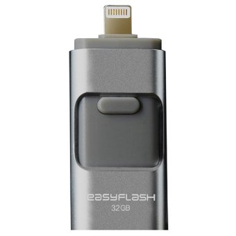 D&D 3 in 1 USB FLASH Drive 32GB External Storage ForiOS/Android/MAC/PC