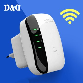 D&D 300Mbps Wireless-N Repeater WIFI Router 802.11N/B/G Range Expander Booster WR03