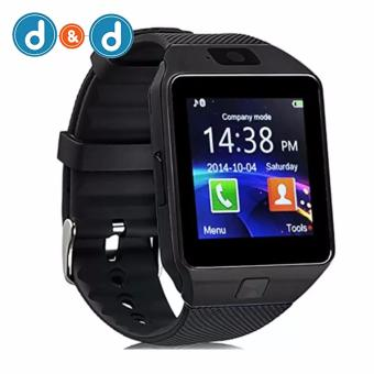 D&D DZ09 Smartwatch for Android and iOS (Black)