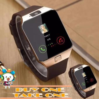 D&D DZ09 Smartwatch for Android and iOS Buy1 Take1 (BROWN) Price Philippines