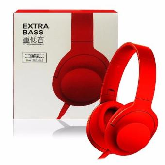 D&D Extra Bass Stereo Headphones (Red)