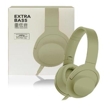 D&D Extra Bass Stereo Headphones (White)
