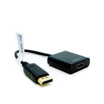 Data Cable UST-DTH06 Display Port (M) To HDMI (F) Adapter