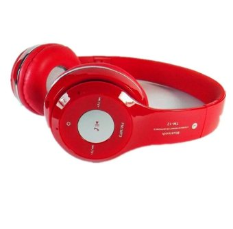 Dawes TM-12 Bluetooth Over-the-Ear Headphone (Red) - picture 2