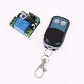 DC 12V 10A 1CH Wireless RF Remote Control Switch Transmitter+ Receiver