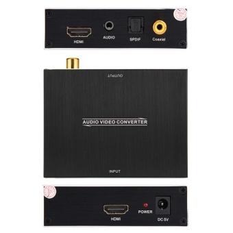 DC 5V HDMI to HDMI Video Audio SPDIF Coaxial Converter 1080P4K x 2K@ 30Hz - intl - 5