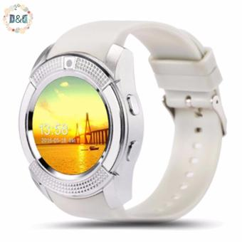 DD V8 Smart Watch Phone 0.3M Camera Bluetooth Music Player And SIM